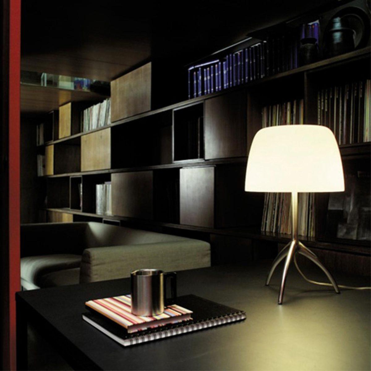 Lumiere XXL - Floor lamp lampshade, by Foscarini | wohnenschlafen-shop.de