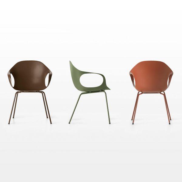 Möbel - Stühle - Elephant Wood Sessel - Kristalia - colour - Buchenfurnier, lackiertes Polyurhethan